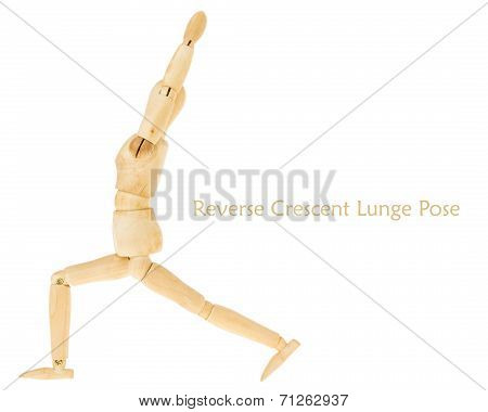 Reverse Crescent Lunge Pose