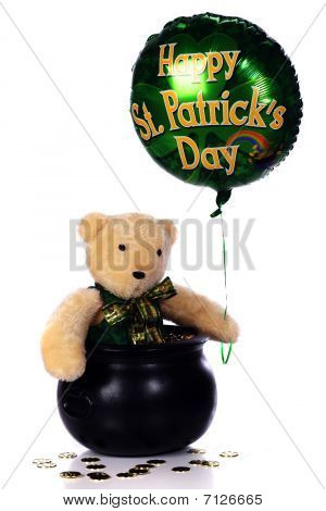 Saint Patty Bear