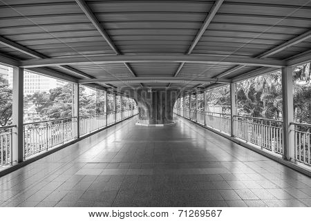 Skywalk In Bangkok
