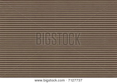 Brown Corrugated Paper - High Resolution