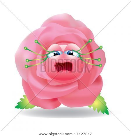 Rose unnerved.