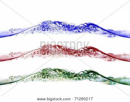 water splash RGB