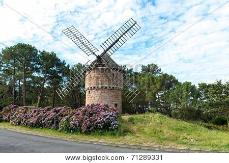 Old Windmill, Perros Guirec (france)