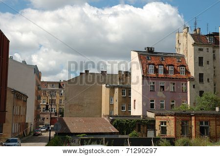 Old Buildings In Poznan, Poland