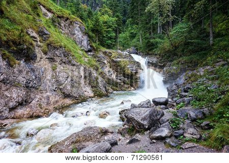 An image of the Kuhfluchtfaelle near Farchant Bavaria Germany