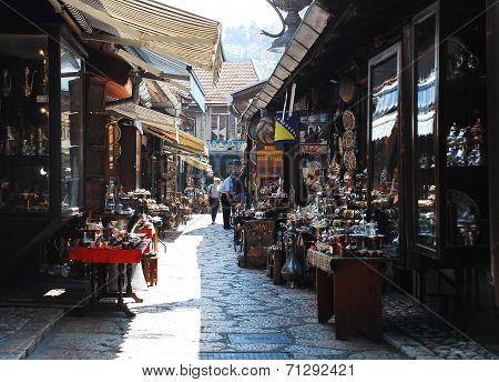 Street In Bascarsija, Sarajevo