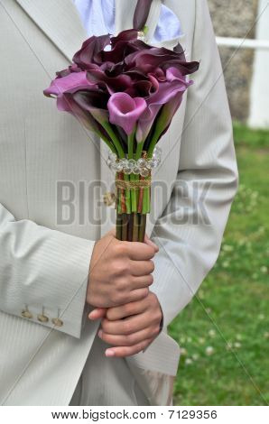 Groom Accessories And Preparation For Wedding Ceremony