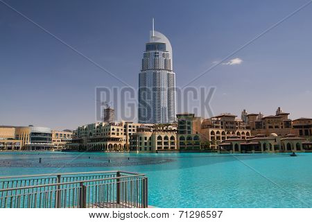 Address Hotel In The Downtown Dubai Area Overlooks The Famous Danc