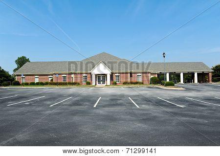 Vacant Bank Building