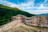 foto of impaler  - Poenari Fortress once owned by Vlad the Impaler  - JPG
