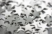picture of iron star  - Silver stars - JPG