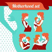 pic of babysitting  - Motherhood set - JPG