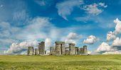 pic of sundial  - Stonehenge  - JPG
