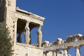 stock photo of polio  - Acropolis of Athens - JPG