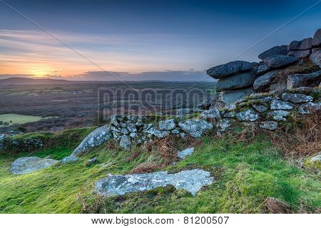Sunset Over Helman Tor