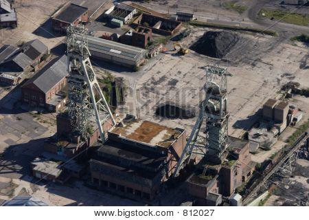 Coal mine aerial