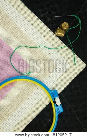 Set For Cross Stitch.