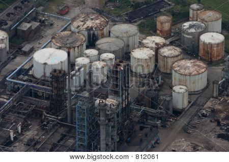 Disused industrial plant