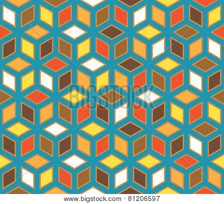 vector abstract geometric seamless repeating wallpaper
