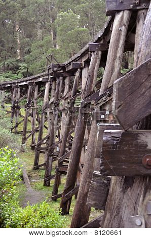 Trestle Bridge In Belgrave