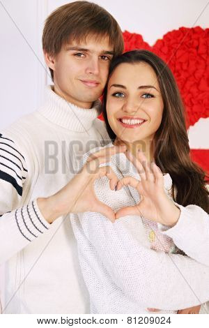 Man And Woman Made Heart