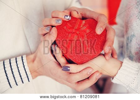 Heart In Hands, Tinted