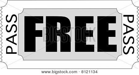 FREE PASS Ticket