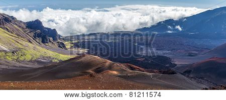 Cinder cones of Haleakala, Maui, Hawaii