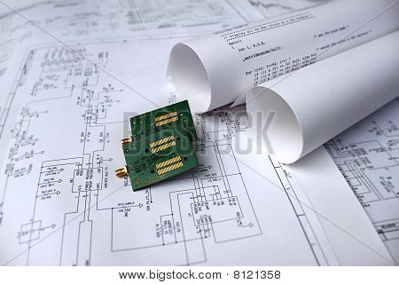 Printed Circuit Board,circuit Diagram,software