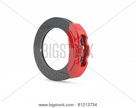 Brake Caliper And Brake Disc