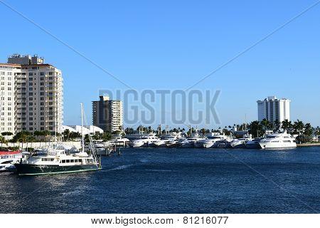 Fort Lauderdale Marina Ft.Lauderdale, Florida, January 2015