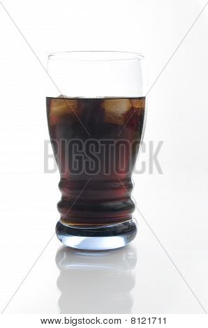 Isolated Coca Cola
