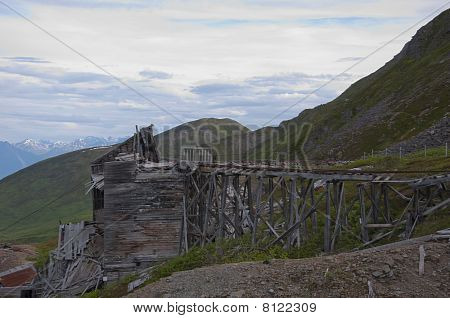 Trestle Bridge At Independence Mine