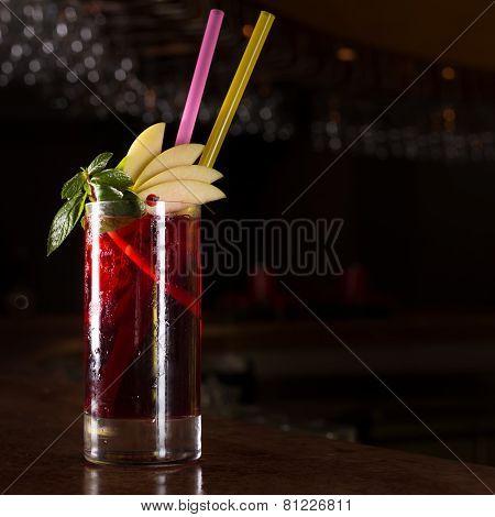 Cherry Juice Cocktail