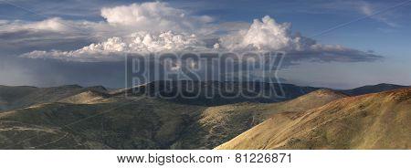 Autumn in mountain meadows