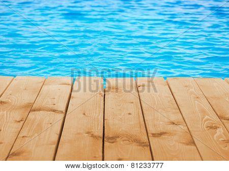 Poolside background