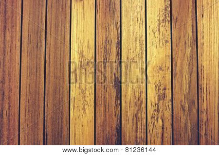 Line Up Teak Wood Background