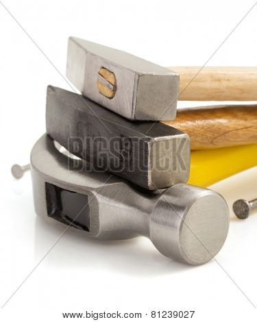 hammer tool isolated on white background