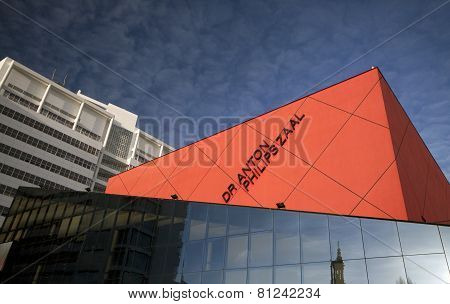 Dr Anton Philips Hall Music Hall in Yhe Hague  Holland