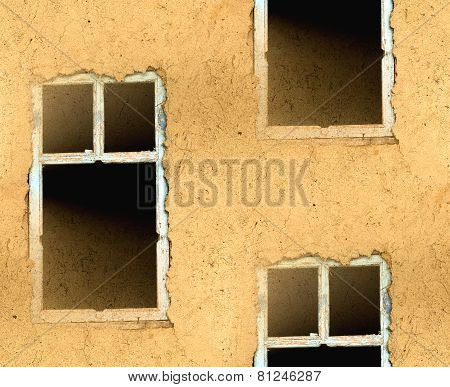 abstract seamless texture walls with a window