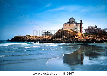 Las playas de cabo Ann, Massachusetts