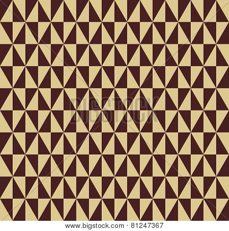 Geometric Seamless Vector Abstract Pattern with Triangles