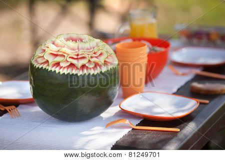 Beautiful water-melon