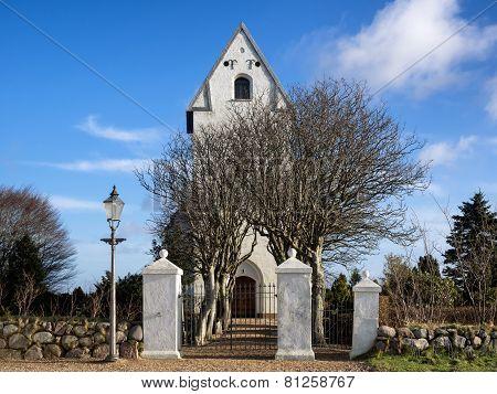 Sneum church near Esbjerg in Denmark