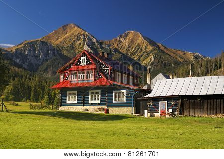 Mountain Hut In Slovakia