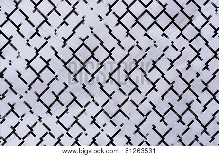 Abstract Rhombus Background Gray