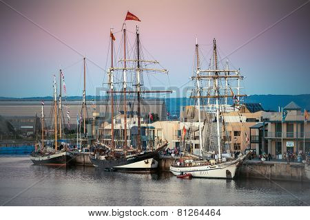 Dutch tall ships