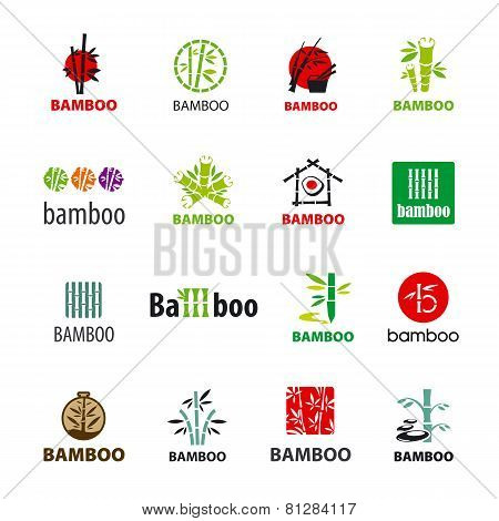 Biggest Collection Of Vector Icons Bamboo