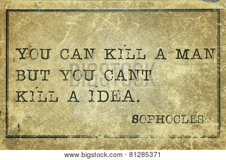 Kill Idea Print