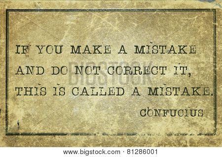 Correct Mistake Print